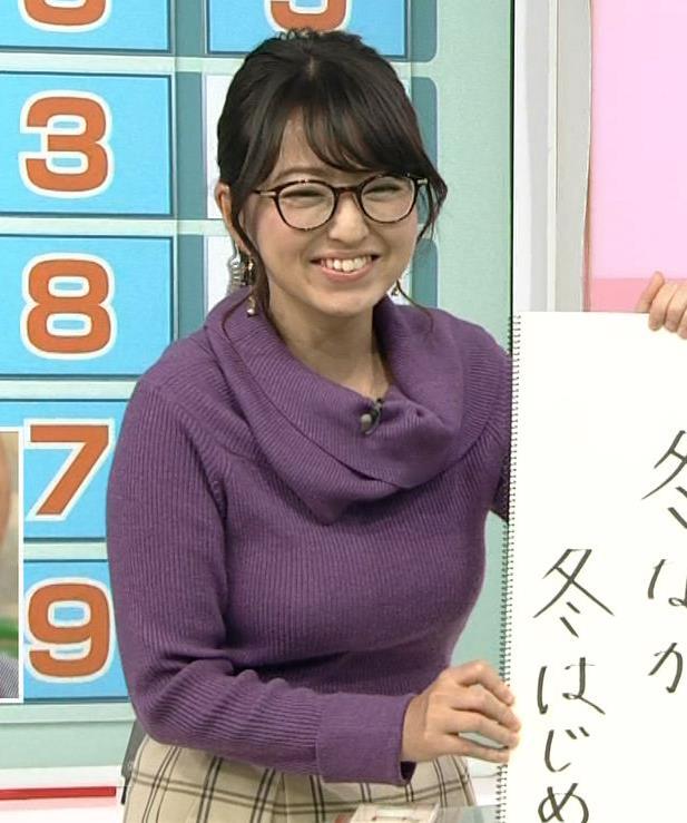 福岡良子 連日巨乳がアピールキャプ・エロ画像3