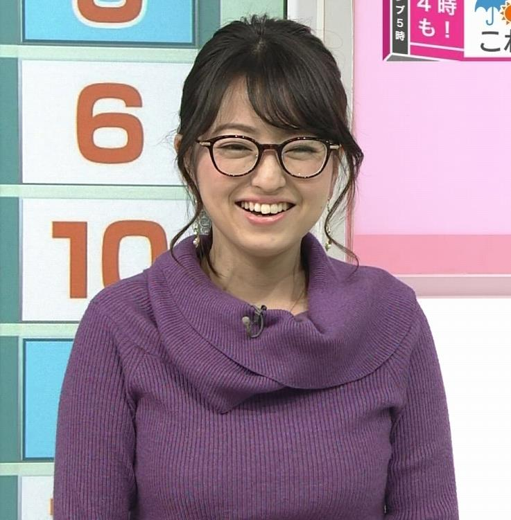 福岡良子 連日巨乳がアピールキャプ・エロ画像5