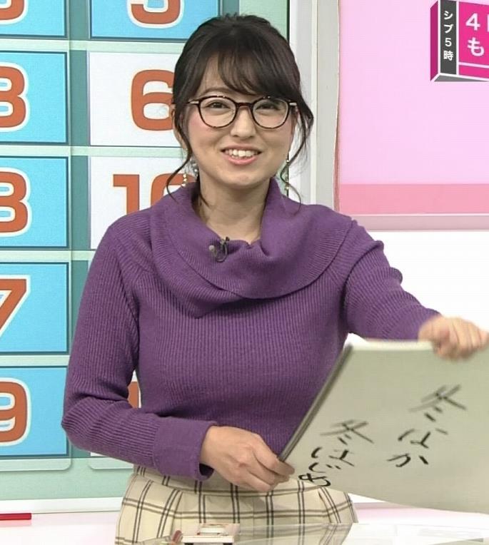 福岡良子 連日巨乳がアピールキャプ・エロ画像6