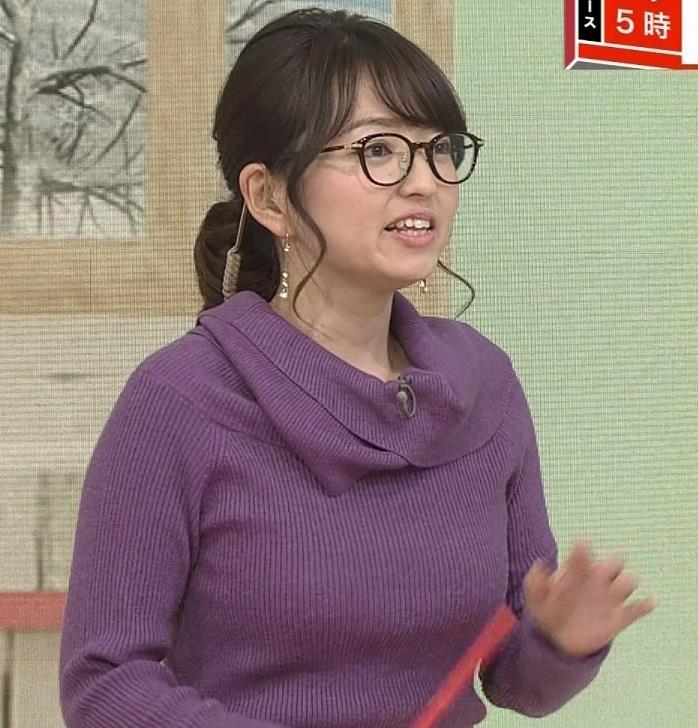 福岡良子 連日巨乳がアピールキャプ・エロ画像8