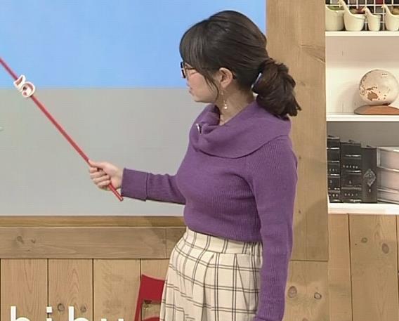 福岡良子 連日巨乳がアピールキャプ・エロ画像10