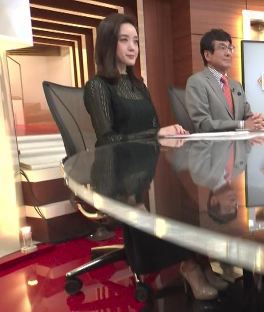 古谷有美アナ レースの透け衣装キャプ・エロ画像