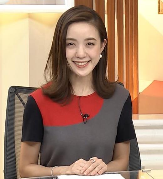 古谷有美アナ ニットの乳がでかいキャプ・エロ画像6