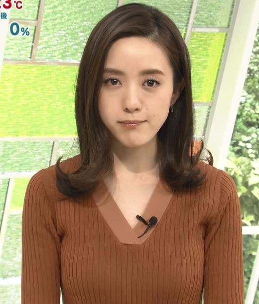 古谷有美 エロいニット巨乳キャプ画像(エロ・アイコラ画像)