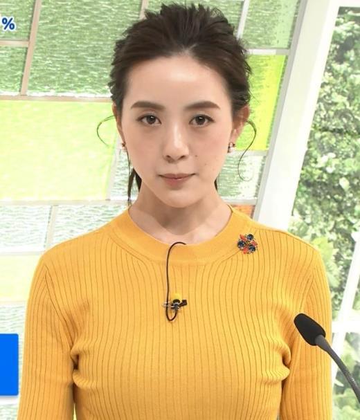 古谷有美 ピチピチのニットおっぱいキャプ画像(エロ・アイコラ画像)