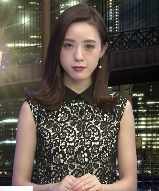 古谷有美アナ 「週刊報道Bizストリート」 キャプ・エロ画像