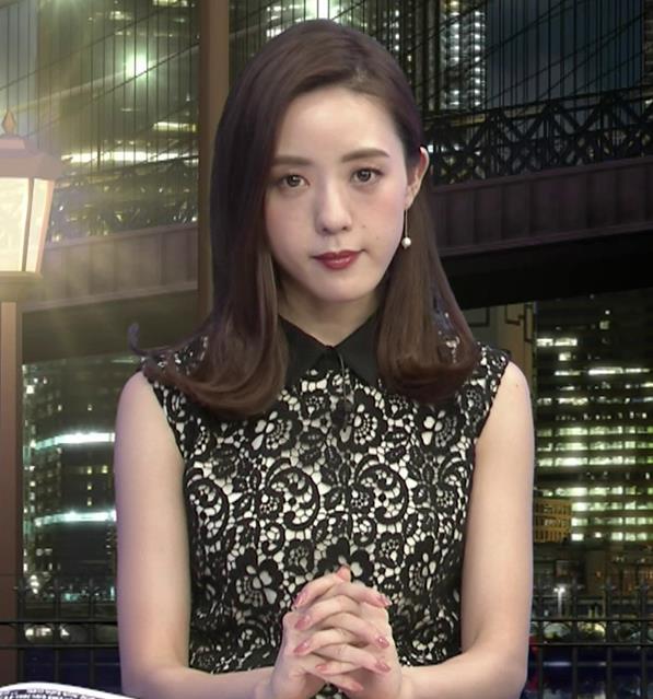 古谷有美アナ 「週刊報道Bizストリート」 キャプ・エロ画像2