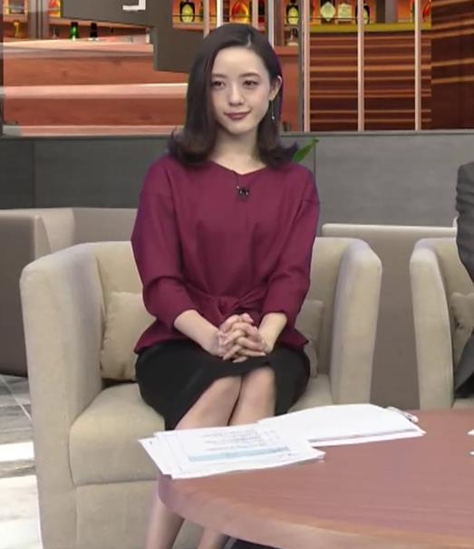 古谷有美アナ 週刊報道Bizストリートキャプ・エロ画像