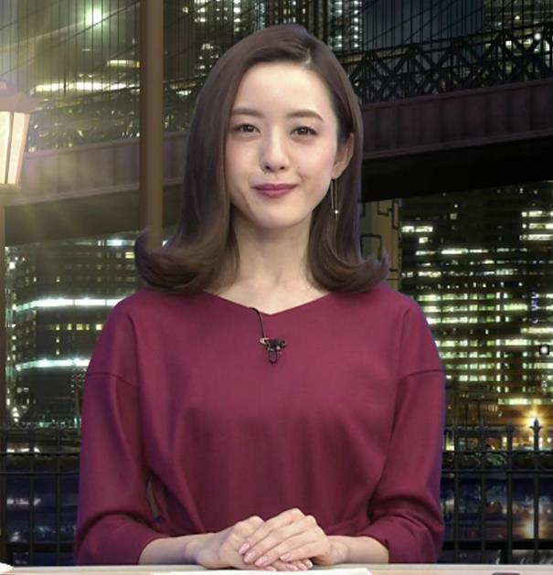 古谷有美アナ 週刊報道Bizストリートキャプ・エロ画像2