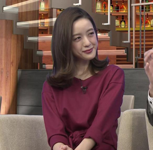 古谷有美アナ 週刊報道Bizストリートキャプ・エロ画像3
