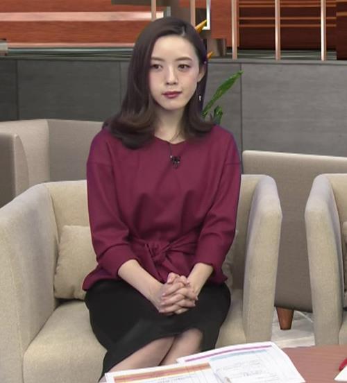 古谷有美アナ 週刊報道Bizストリートキャプ・エロ画像4