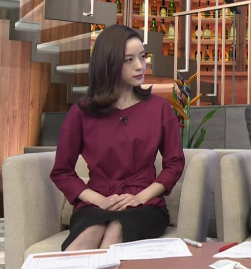 古谷有美アナ 週刊報道Bizストリートキャプ・エロ画像6