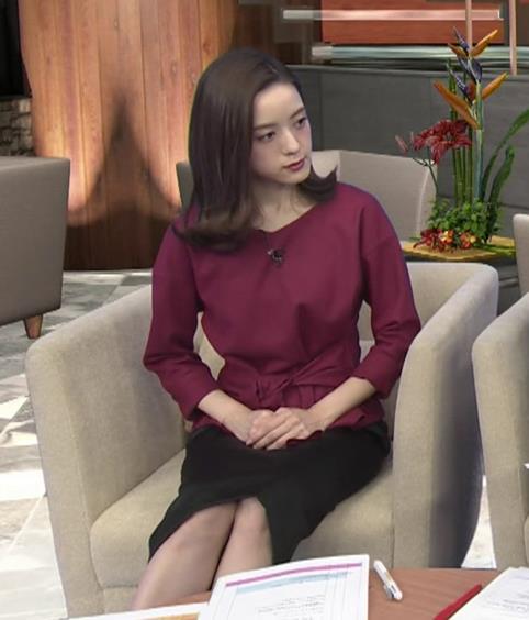 古谷有美アナ 週刊報道Bizストリートキャプ・エロ画像7