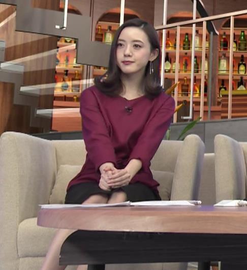 古谷有美アナ 週刊報道Bizストリートキャプ・エロ画像8