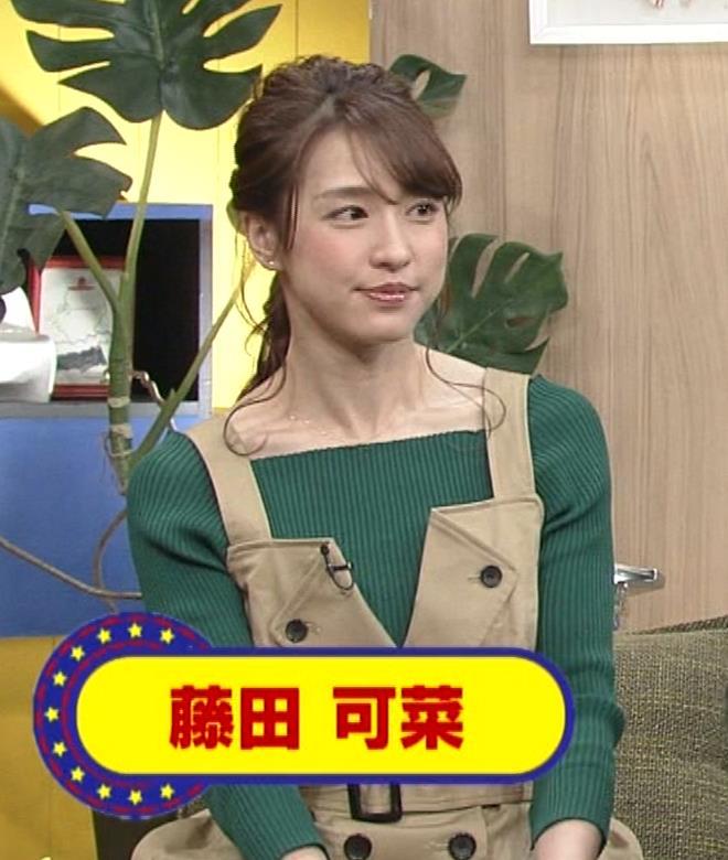 藤田可菜 ローカル美人タレントキャプ・エロ画像