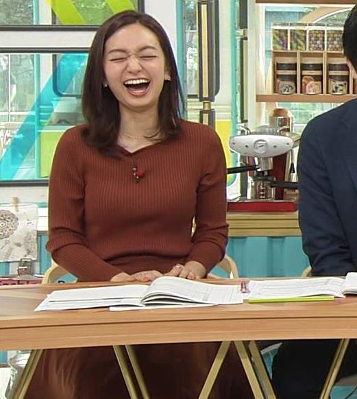 後藤晴菜アナ エロいニットおっぱいキャプ・エロ画像5