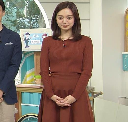 後藤晴菜アナ エロいニットおっぱいキャプ・エロ画像6