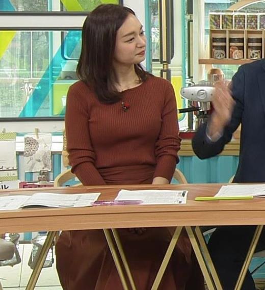 後藤晴菜アナ エロいニットおっぱいキャプ画像(エロ・アイコラ画像)