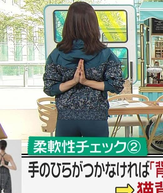 後藤晴菜アナ スパッツで股間とお尻が大変なことに!!キャプ・エロ画像4