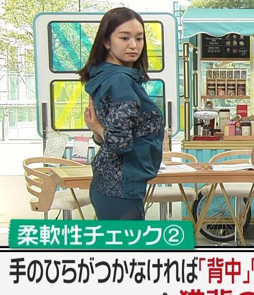 後藤晴菜アナ スパッツで股間とお尻が大変なことに!!キャプ・エロ画像5