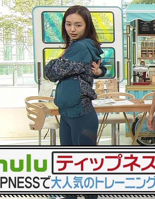後藤晴菜アナ スパッツで股間とお尻が大変なことに!!キャプ・エロ画像10