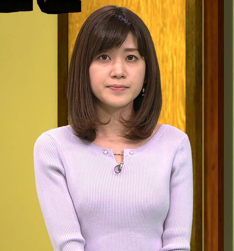 合原明子アナ ニットおっぱいキャプ・エロ画像4
