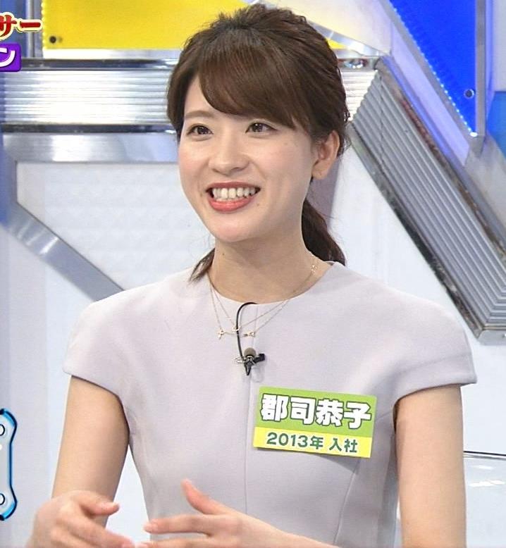 郡司恭子アナ ワキチラキャプ・エロ画像5