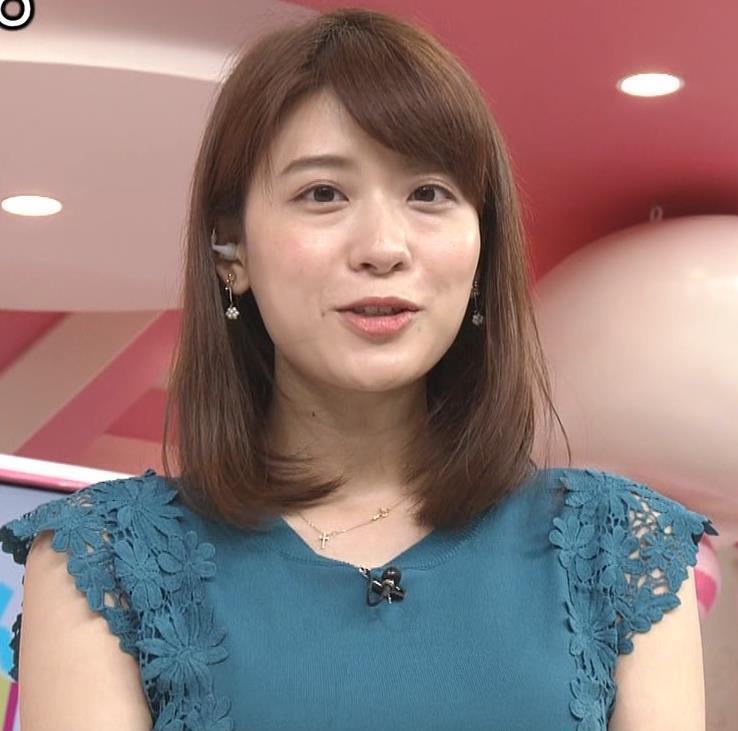 郡司恭子アナ 胸のふくらみキャプ・エロ画像2