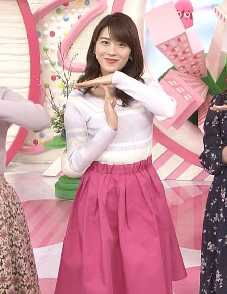 郡司恭子アナ ニット乳を斜めからキャプ・エロ画像2
