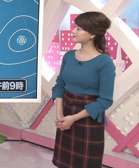 郡司恭子アナ けっこう大きくなってそうなおっぱいキャプ・エロ画像3