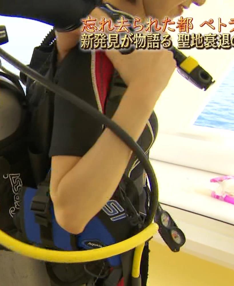 鉢嶺杏奈 ウェットスーツへの着替えシーンキャプ・エロ画像6