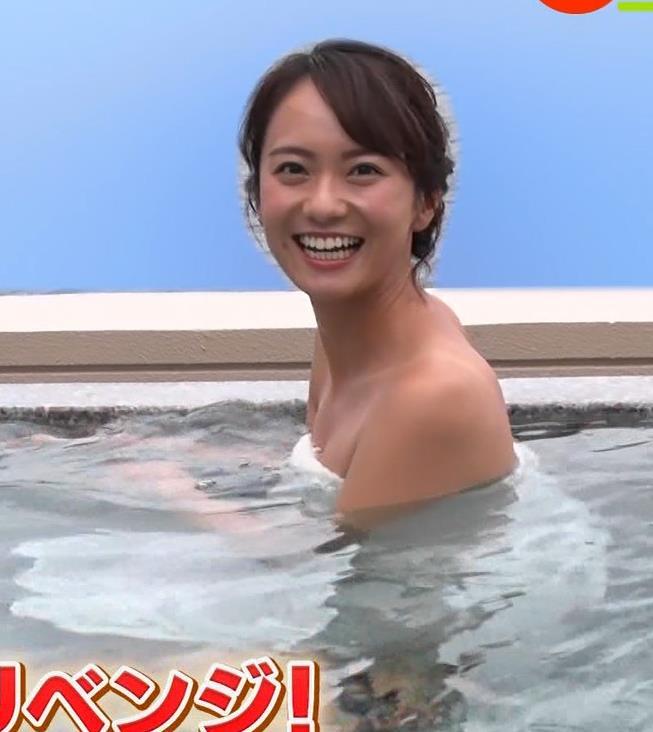鉢嶺杏奈 温泉入浴エロシーンキャプ・エロ画像