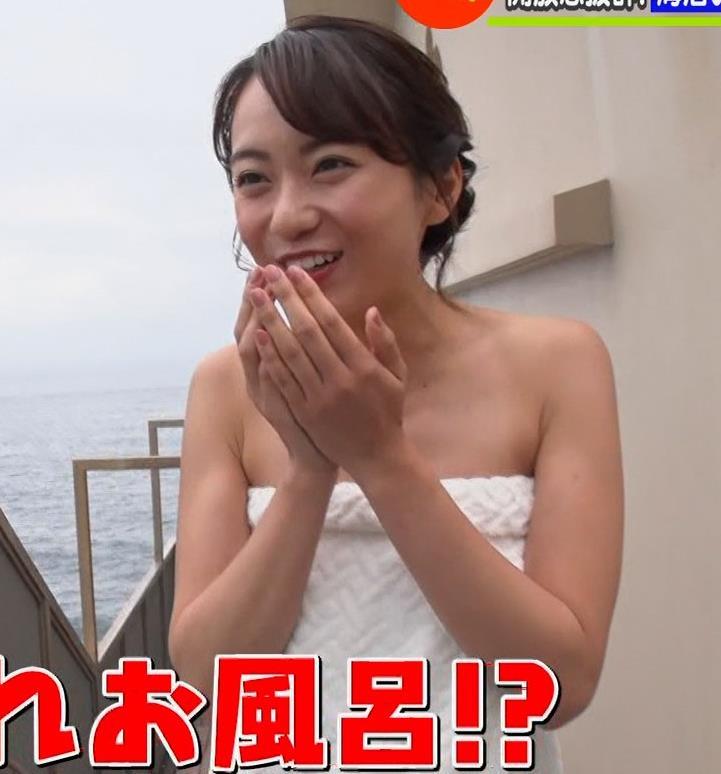 鉢嶺杏奈 温泉入浴エロシーンキャプ・エロ画像5