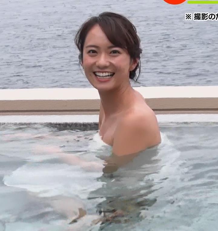 鉢嶺杏奈 温泉入浴エロシーンキャプ・エロ画像8