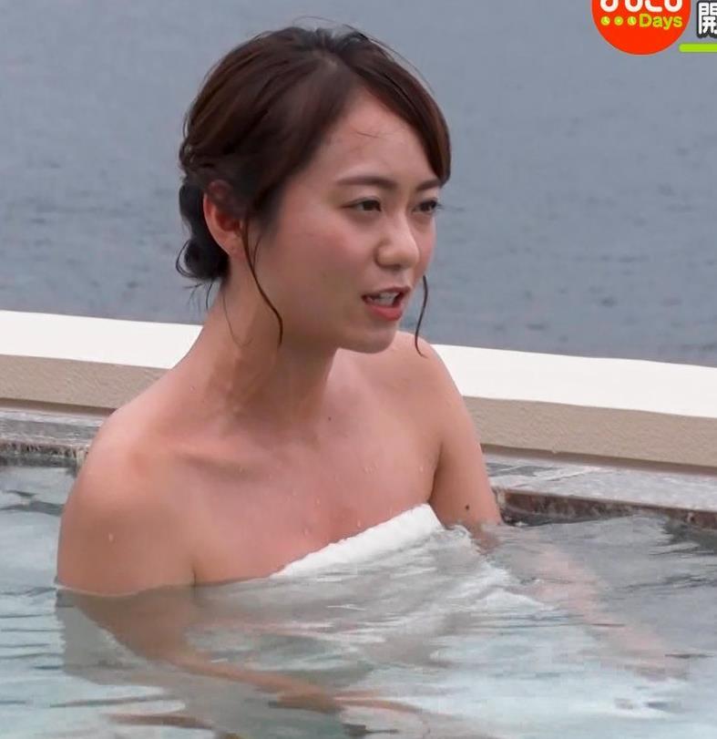 鉢嶺杏奈 温泉入浴エロシーンキャプ・エロ画像10