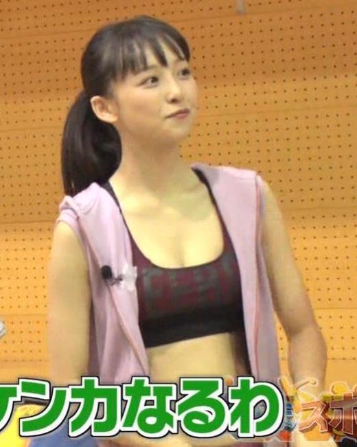 華村あすか エロスポーツ番組にエロ要員として出演キャプ画像(エロ・アイコラ画像)
