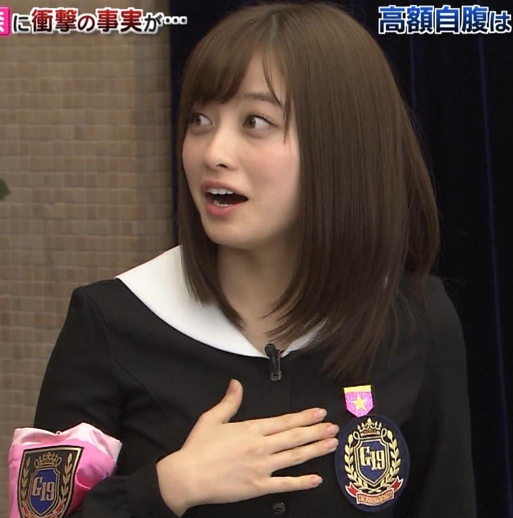 橋本環奈 ミニスカ太ももがしゃがんで…。キャプ・エロ画像16