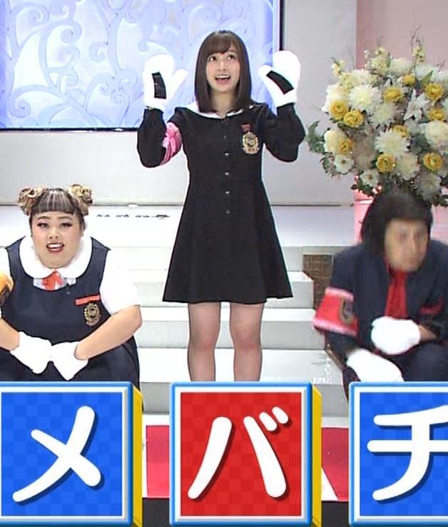 橋本環奈 ミニスカ太ももがしゃがんで…。キャプ・エロ画像3