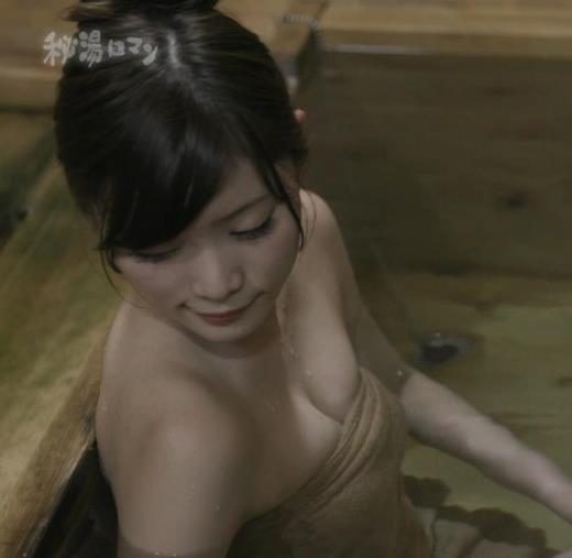 橋本真帆 おっぱい露出しすぎの「秘湯ロマン」激エロ回キャプ画像(エロ・アイコラ画像)