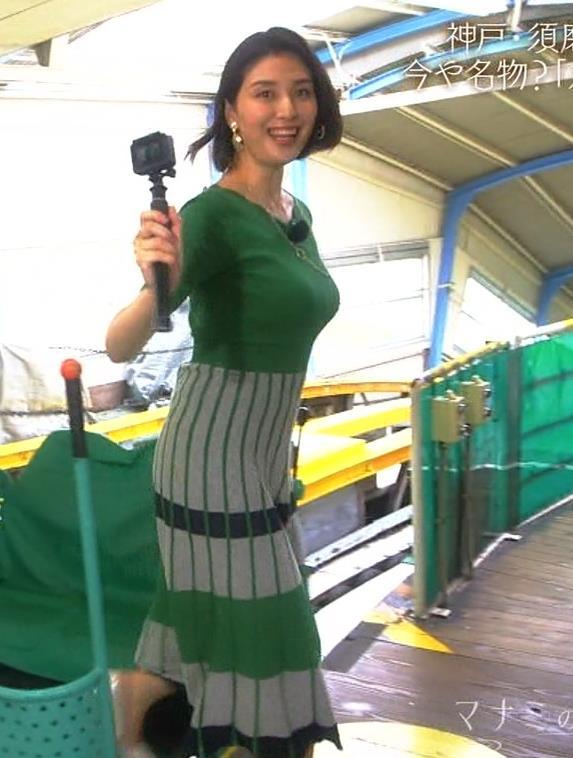 橋本マナミ 熟女体型エロスキャプ・エロ画像3