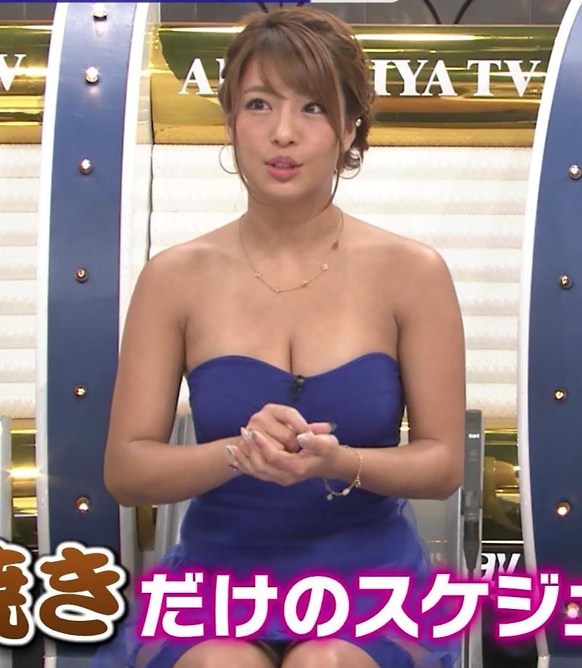 橋本梨菜 TVでも過激に露出!水着の日焼け跡がエロ過ぎキャプ・エロ画像4
