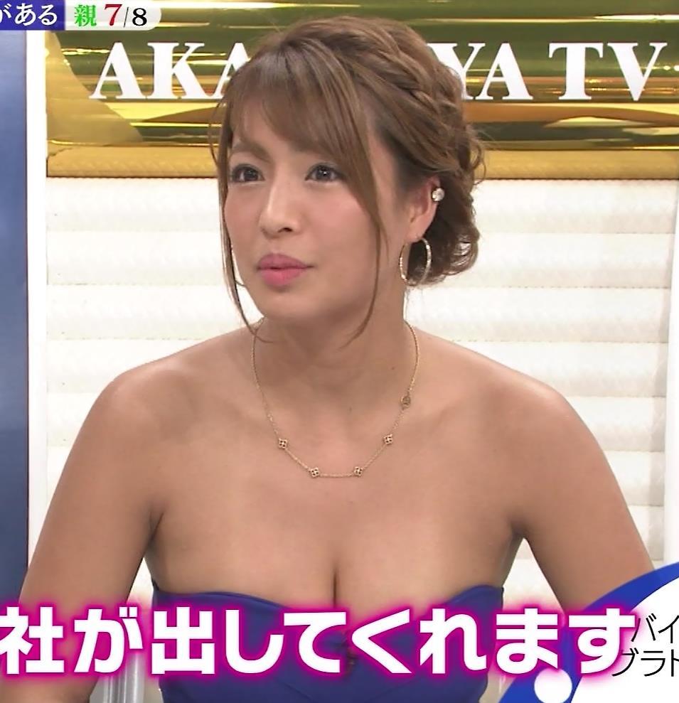 橋本梨菜 TVでも過激に露出!水着の日焼け跡がエロ過ぎキャプ・エロ画像8