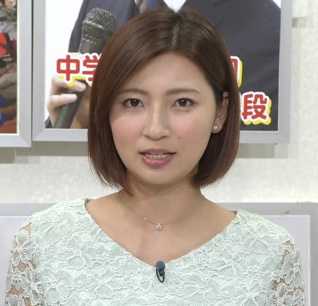 畑下由佳アナ ミニスカ美脚キャプ・エロ画像4