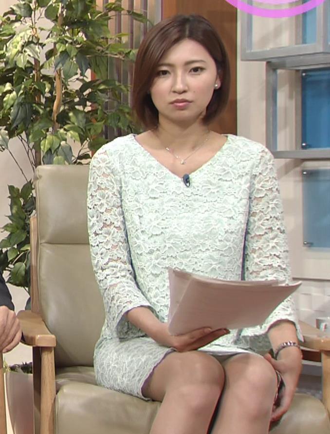 畑下由佳アナ ミニスカ美脚キャプ・エロ画像5