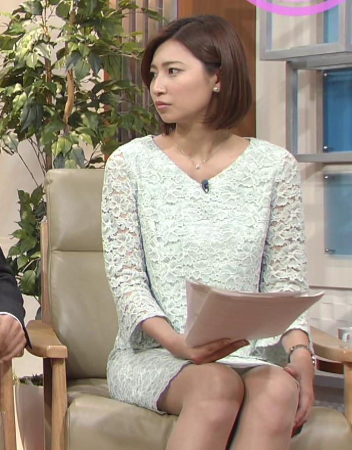 畑下由佳アナ ミニスカ美脚キャプ・エロ画像6