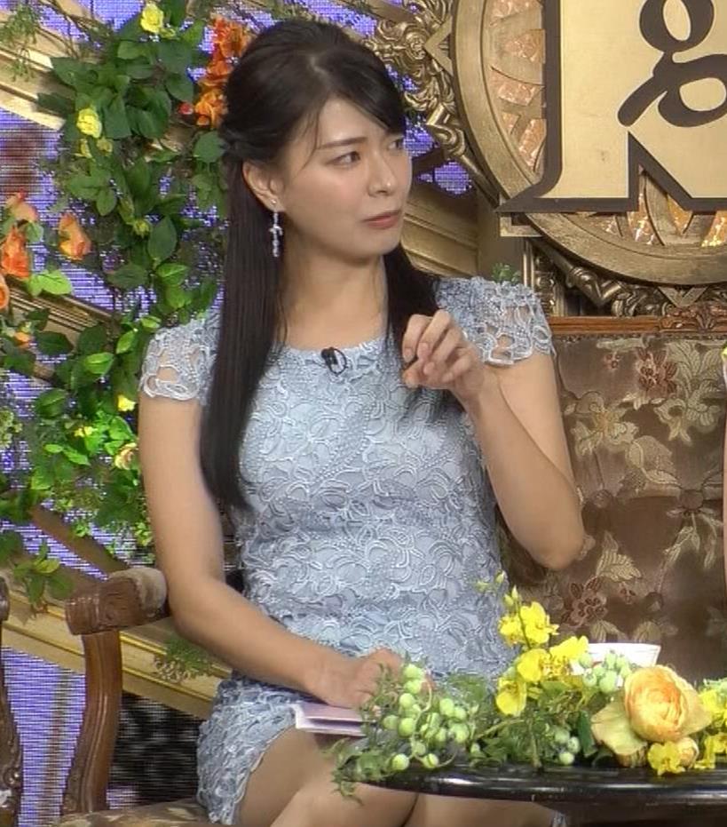 八田亜矢子 おっぱいパツパツや太もも等キャプ・エロ画像