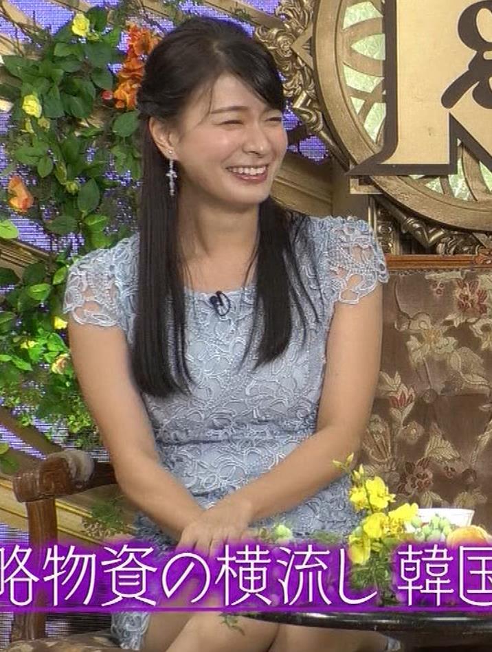 八田亜矢子 おっぱいパツパツや太もも等キャプ・エロ画像2