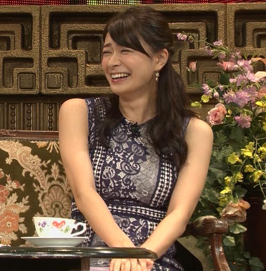 八田亜矢子 おっぱいパツパツや太もも等キャプ・エロ画像3