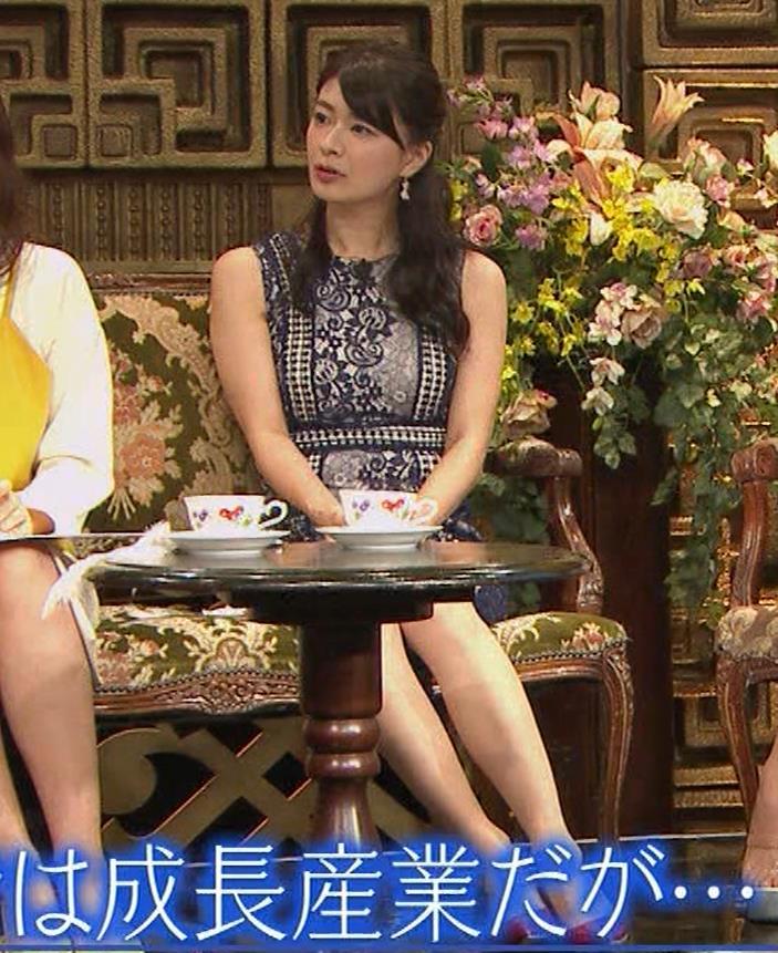 八田亜矢子 おっぱいパツパツや太もも等キャプ・エロ画像6