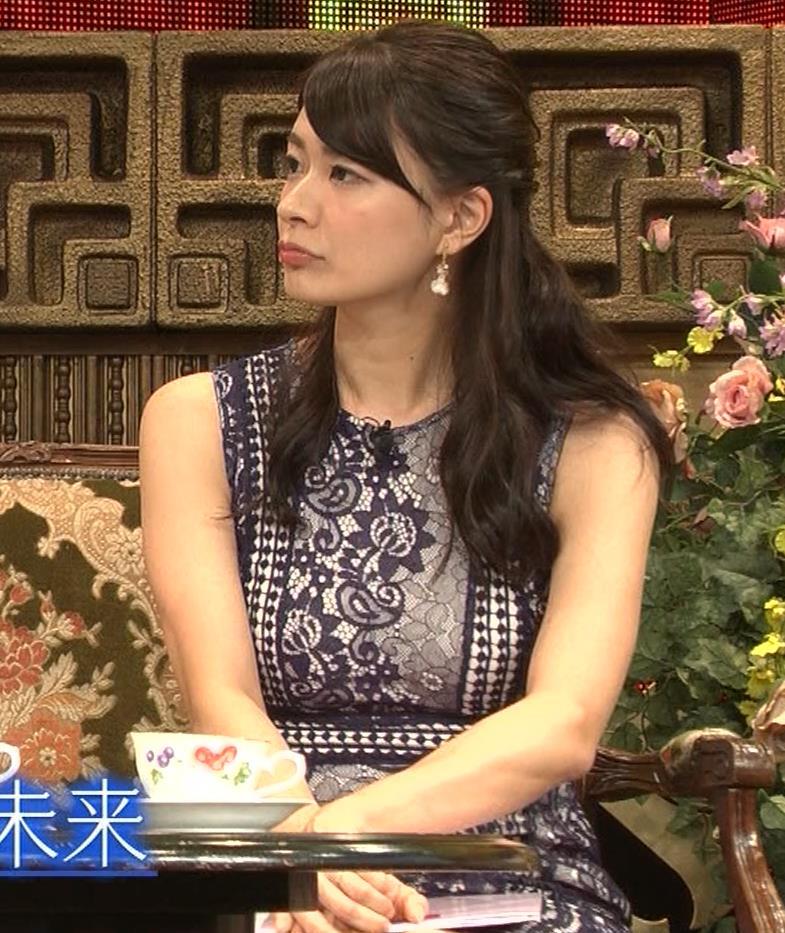 八田亜矢子 おっぱいパツパツや太もも等キャプ・エロ画像7